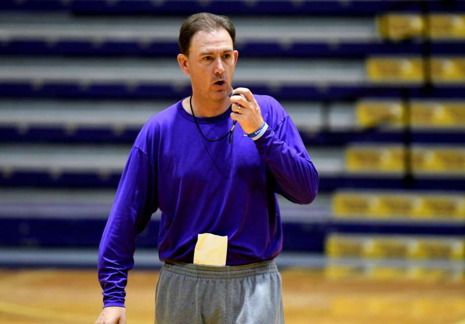 FILE PHOTO — UALbany men's basketball head coach Will Brown