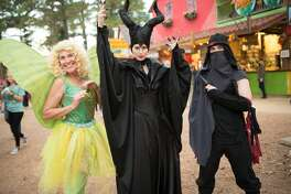 """This weekend the Texas Renaissance Festival debuted its newest themed weekend, dubbed """"Heroes and Villains"""". Devoted to the cosplay set, it lets visitors deviate from the usual old world garb at the fair and tap into other genres. The weather was clear and mild, perfect for dressing up at the festival just north of Houston."""