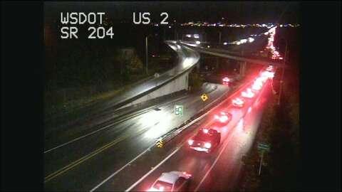 Fatal crash shuts down I-5 near Everett - seattlepi com