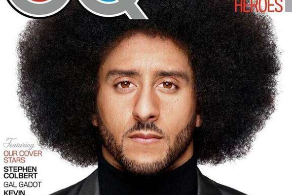 Colin Kaepernick was named 2017 Citizen of the Year in GQ Magazine's annual special issue released Monday that recognizes influential men and women of the year.