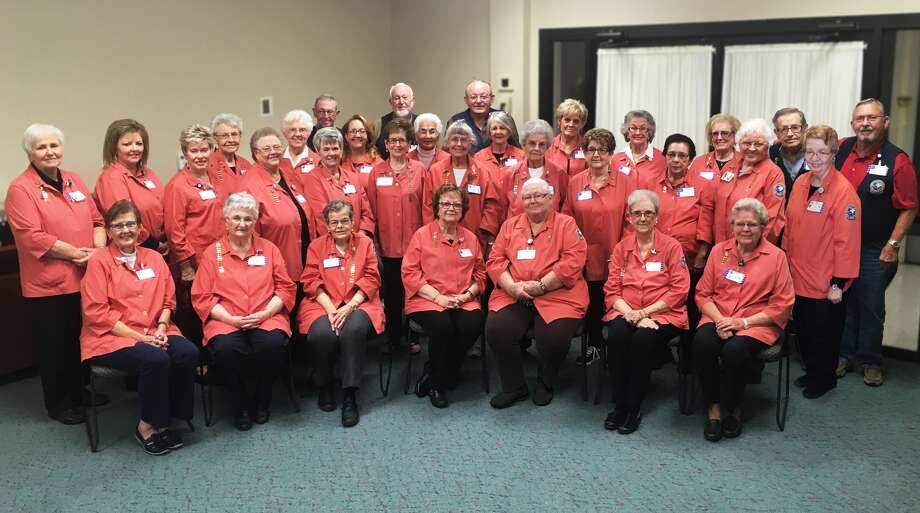 For nearly 50 years, Covenant Health Plainview's Auxiliary has provided much needed gift to the community hospital. Pictured are current Auxiliary members: back row; Daryl Dixon, Joe Nance, Ronny Hughes. Middle Row;  Sally Phillips, Pam Burress, Carolyn Huddleston, Betty Odom, Peggy Alexander, Pearl Acker,  Andrea Unwin, Dianne Ward, Sammie Roberts, Inez Hillman, Dalia Walls, Marsha Allen, Jo Ann Rogers, Dovie Gilleland, Edna Heflin, Donna Burnett, Maria Jimenez, Treva Tenery, Judy Gattis, Ken Roberts, Shirley Hilburn, Bob Bowden. And seated; Sharon Morgan, Janice Sageser, Willa Ruth Simmons, Nancy Bowden, Clara Hughes, Rose Ann Bailey, Evelyn Ball Photo: Homer Marquez, Covenant Health Plainview