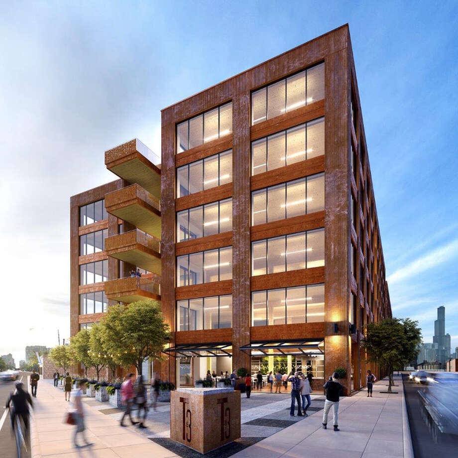 Hines to build timber office building in chicago houston for Building an estate