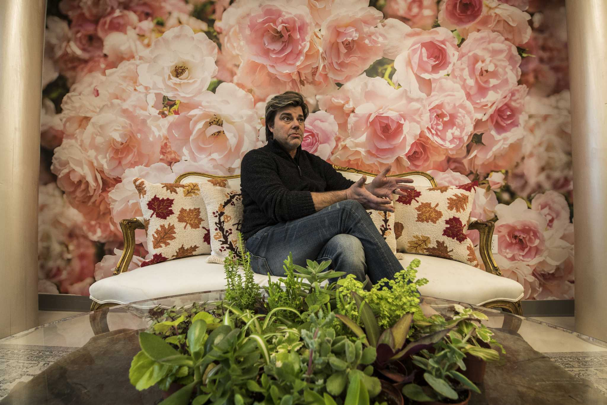 Designer Who Arranged Flowers For Films Opening Saratoga Springs