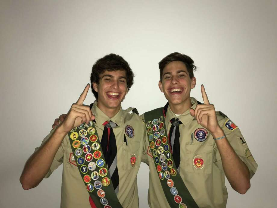Peyton Price, senior at Second Baptist High School, awarded Eagle Scout status for building a prayer garden at the Parkway Place senior faith-based living community, dedicated to his grand-parents. Photo: Courtesy Photo