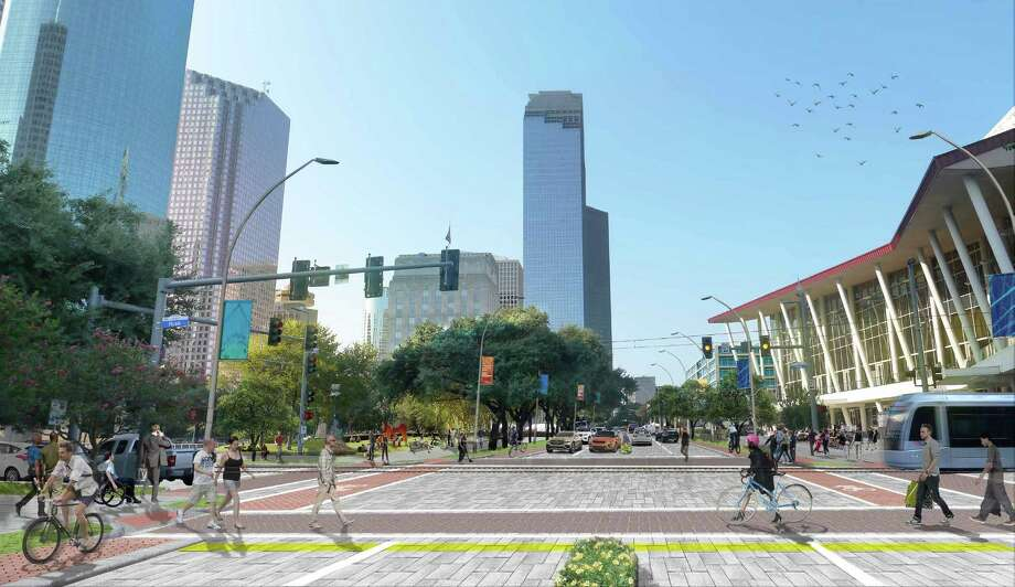 The Houston Downtown Management District (Downtown District) and Central Houston, Inc. have released Plan Downtown: Converging Culture, Lifestyle & Commerce. Photo: Downtown District