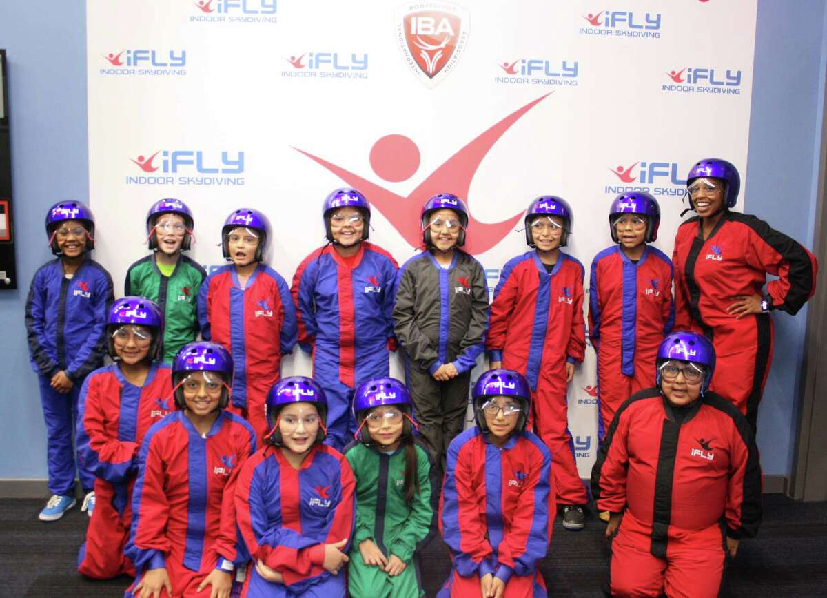 Students from Charles R. Drew Elementary in Crosby ISD made the trek across the region last week to learn about STEM (science, technology, engineering and mathematics) principles at iFLY in Katy.