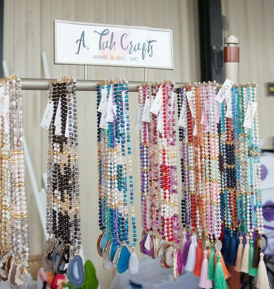 More than 60 local vendors presenting holiday gifts of jewelry, clothing and accessories, items for the home and more will gather at Candy Cane Market with the Real Craftwives of Katy on Saturday, Dec. 2. Photo: Cane Island