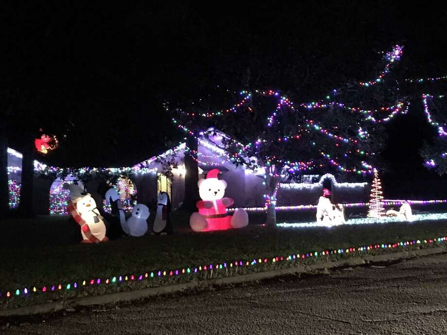 Kevin Murphree started decorating his Katyland front yard in late October on Chilton.
