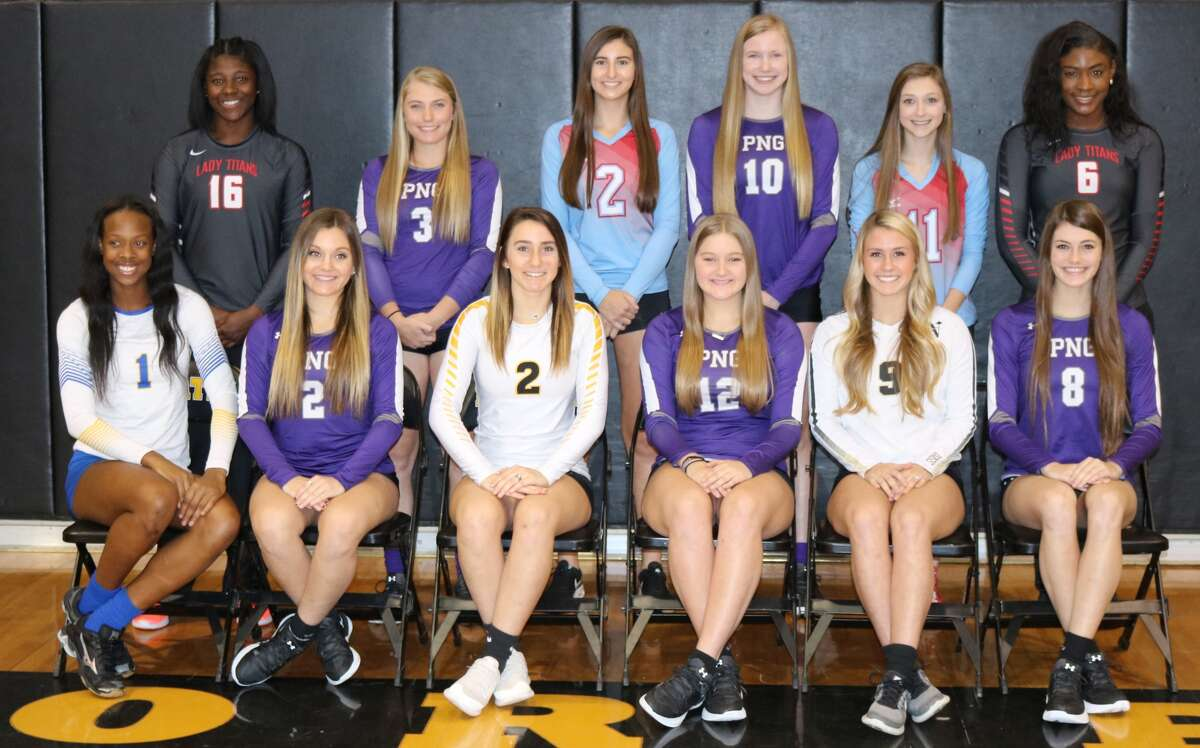 High School Volleyball: 22-5A All-District team. (Photo provided by Melissa Story)