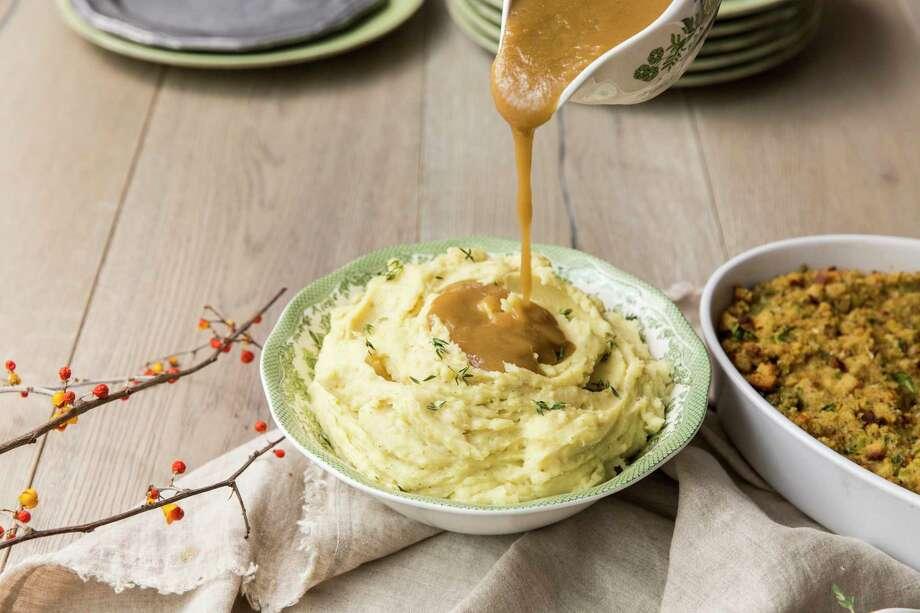 'Perfect' Gravy is tasty on mashed potatoes. Styled by Carla Buerkle. Photo: Julie Soefer / Julie Soefer