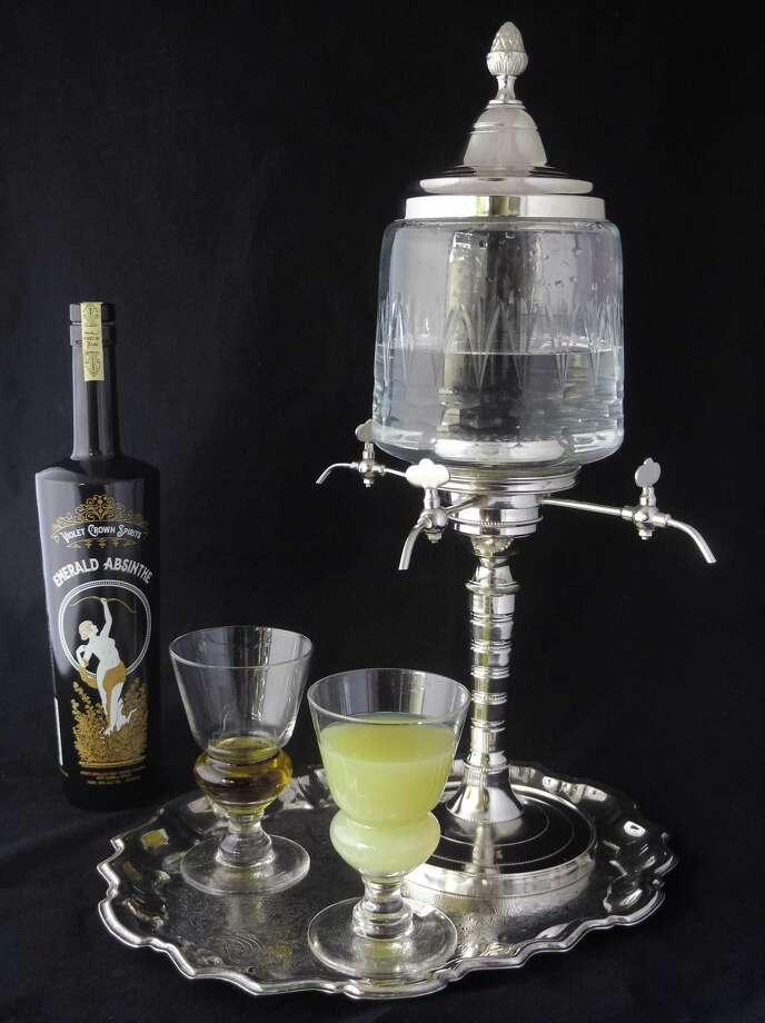 Violet Crown Spirits of Bastrop is launching Texas' first absinthe, which will be featured at Brasserie du Parc in downtown Houston. Photo: Courtesy Photo