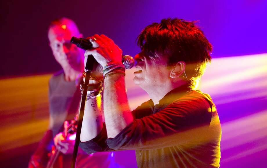 "British pop star Gary Numan, known for ""Cars,"" is to play the Fillmore. Photo: Jay Janner, Associated Press"
