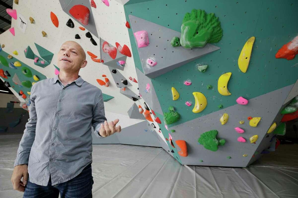 Momentum Indoor Climbing's Jeff Pedersen: