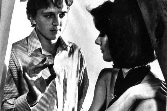 David Hemmings (l) and Vanessa Redgrave in the movie Blow Up  Handout