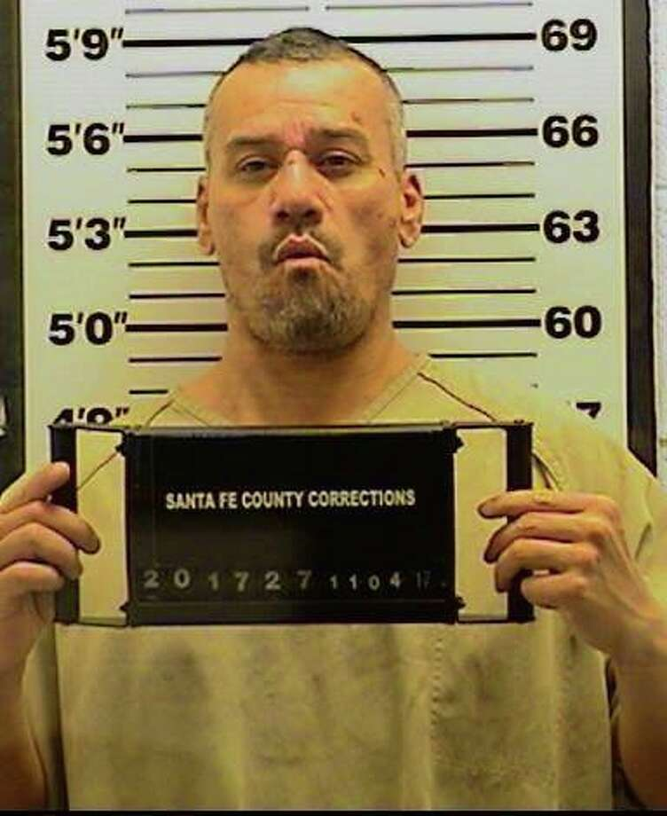 Henry Gonzales, 43, is facing his 11th drunken-driving charge after police say he led them in a high-speed chase — 10 hours following his release from jail on another DWI conviction. Photo: Santa Fe Police Public Information Officer/Facebook