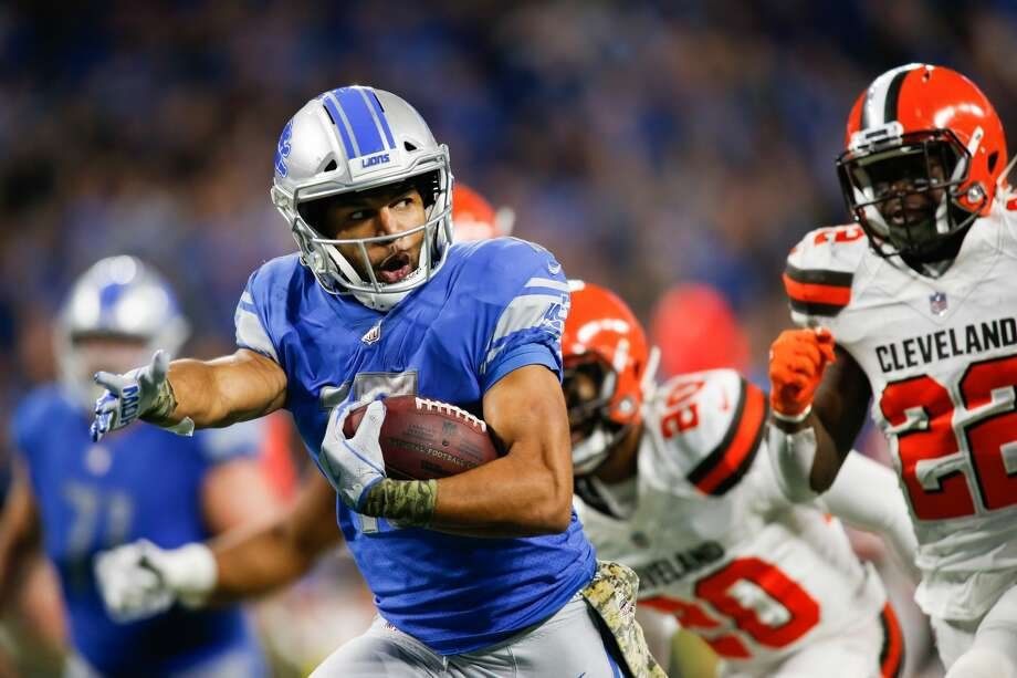 """Wide receiver Golden Tate, formerly of the Seahawks, has been in Detroit for a few seasons. Do you have any regrets about not being able to get him back? And with other ex-Seahawks on the team as well -- cornerback DeShawn Shead, tight end Luke Willson -- what's the balance of it being 'business as usual' and having a moment with your former players?  """"I liked (Tate) a lot. Sometimes, you just can't get it done, it doesn't fit. … I think Golden is a great player. I love the way he plays. As a young guy coming in, he always had a knack. Such a naturally competitive, kind of athletically artistic type of guy with his style. He'll make you miss and break tackles and do things a lot of guys couldn't do. It just came so natural and easy to him (in Seattle).  """"Those three guys were really fantastic guys in this program and they're significant characters, personalities and contributors. … You feel like those are kind of always our guys because they started with us and grew up with us. It will be fun to play against them. We're going to give our all (against them) just like they'll do to us. It should be real competitive and fun and all that."""" Photo: Icon Sportswire/Icon Sportswire Via Getty Images"""