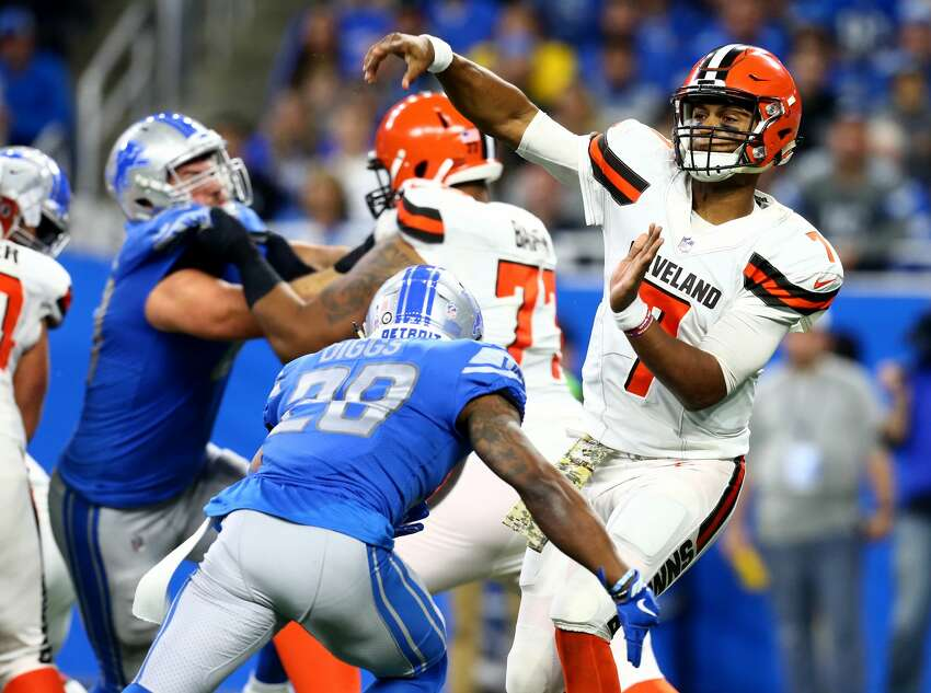 31. Cleveland Browns (0-9)Previous: 32 DeShone Kizer and Cleveland jumped out to a quick 10-point lead in Detroit, but it was downhill from there.