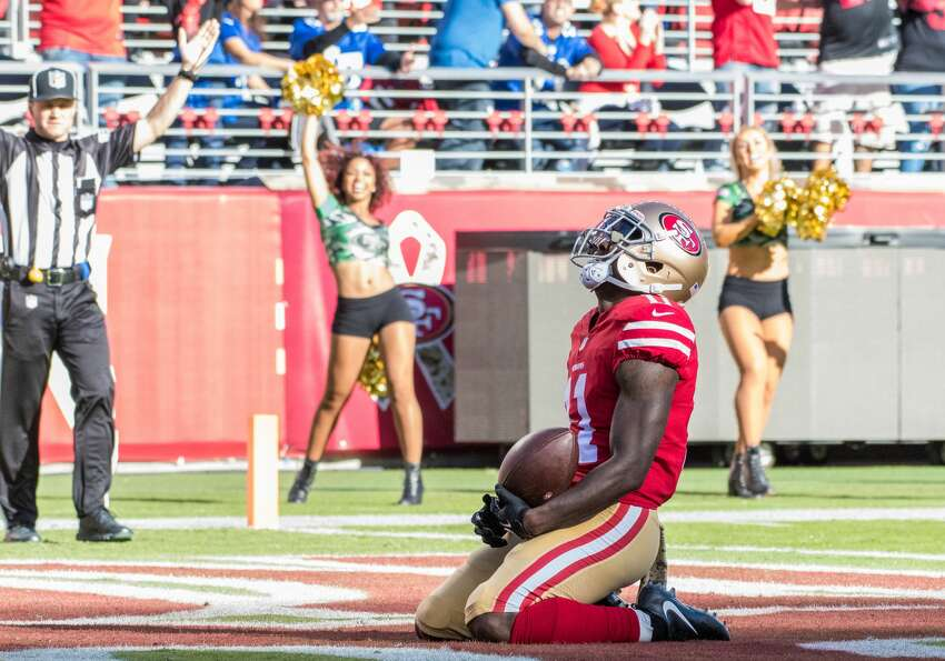 30. San Francisco 49ers (1-9)Previous: 31 Congrats to the Niners on their first win of the year, which included an emotional touchdown from Marquise Goodwin hours after personal tragedy.