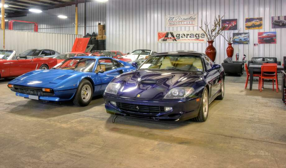 Houston's ALARA Garage is home the some of Houston's rarest and most valuable luxury cars. Photo: Joe Gayle