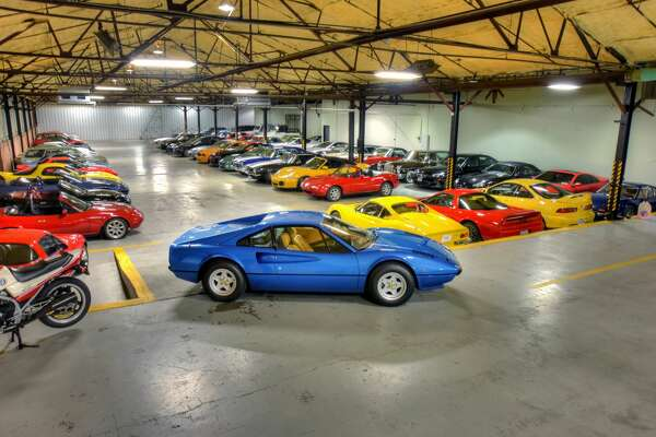 Houston's ALARA Garage is home the some of Houston's rarest and most valuable luxury cars.