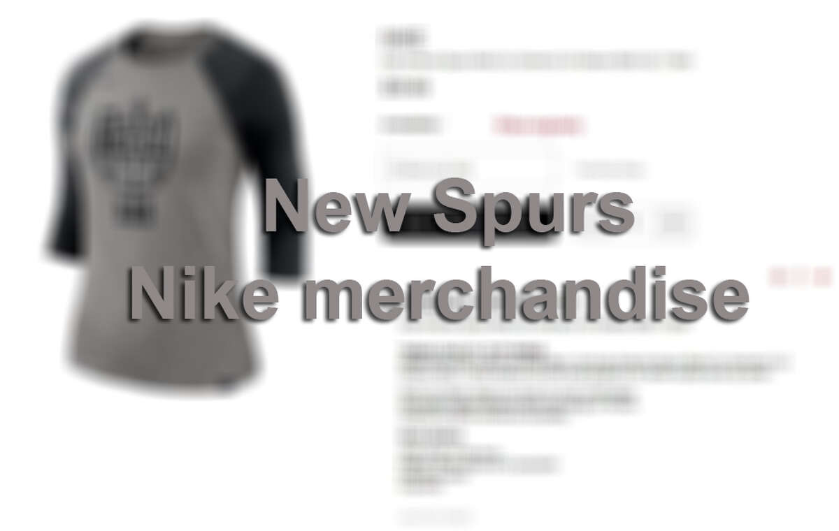 Click ahead to see all the new Spurs Nike merchandise released for the 2017-18 season.