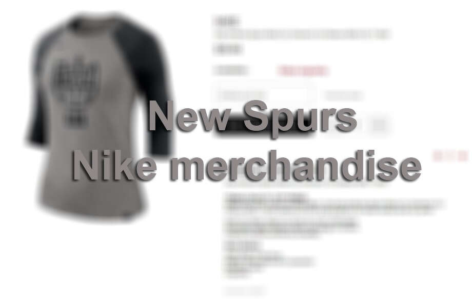 Click ahead to see all the new Spurs Nike merchandise released for the 2017-18 season. Photo: MySA