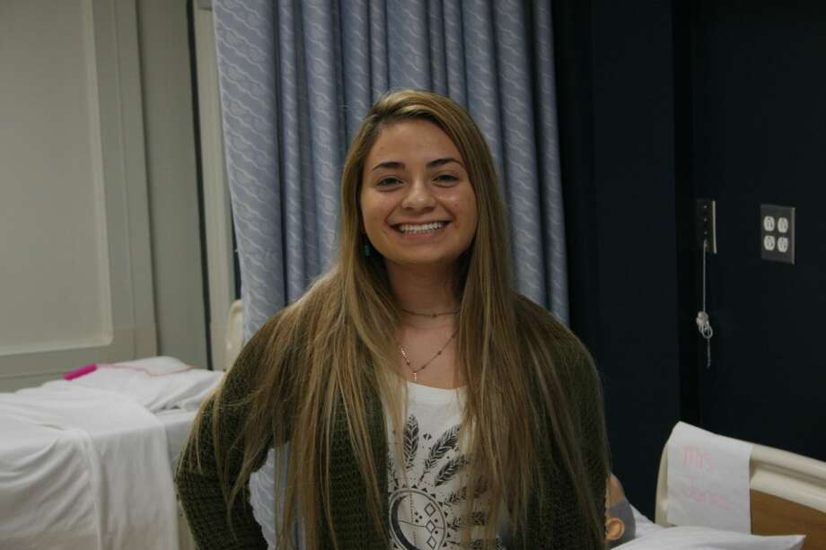 Hissel Sotelo'sultimate goal is to become an RN. Photo: Courtesy Photo