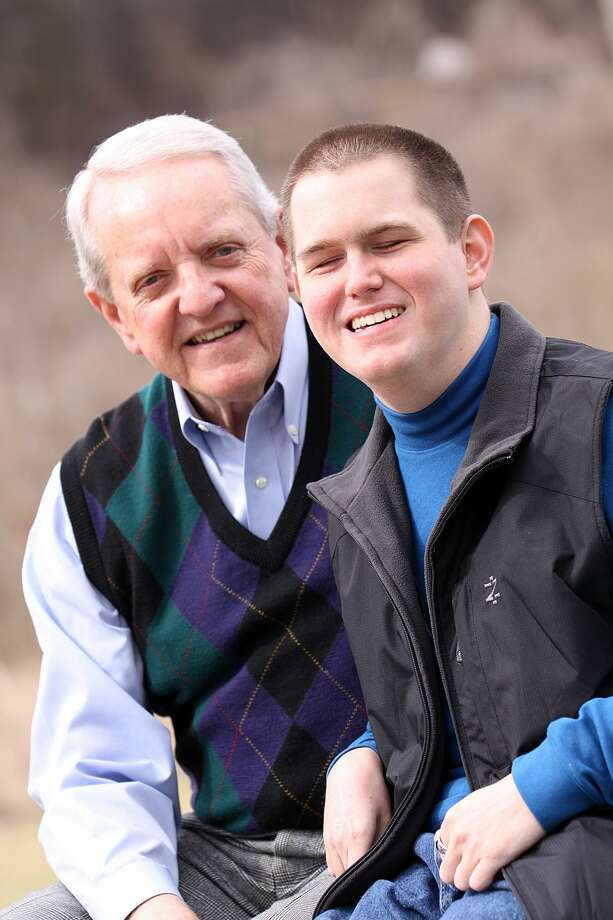 HK Derryberry, right, and Jim Bradford will tell the story of their friendship during an appearance Wednesday at Midland Christian School. Photo: Courtesy Photo