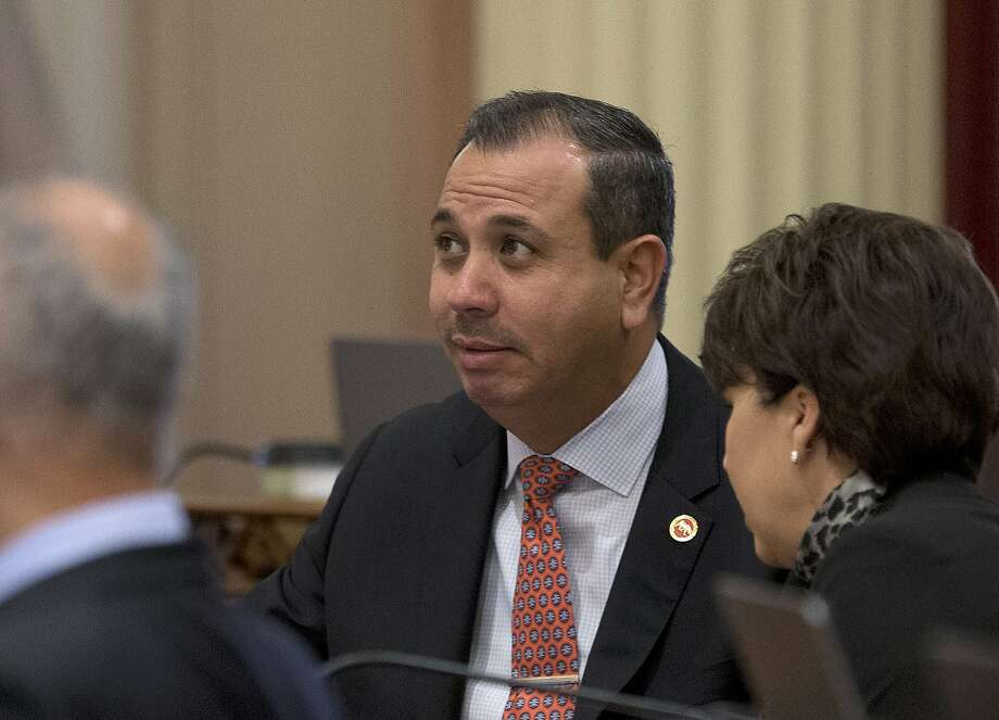 Democratic state Sen. Tony Mendoza agreed to a leave after misconduct allegations, but returned until told to leave again. Photo: Rich Pedroncelli, AP