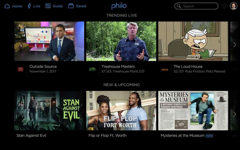 Philo is offering a package of 35 popular entertainment networks starting at $16 a month. Photo: Photos Courtesy Of Philo