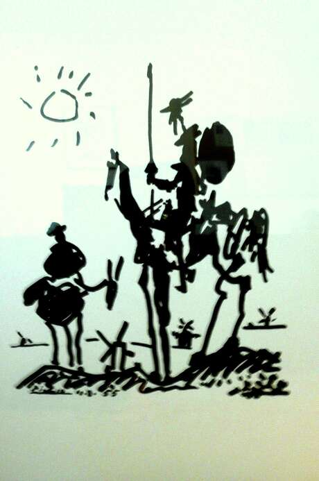 Picasso's 'Don Quixote.'  Photo: Anne W. Semmes / Greenwich Citizen