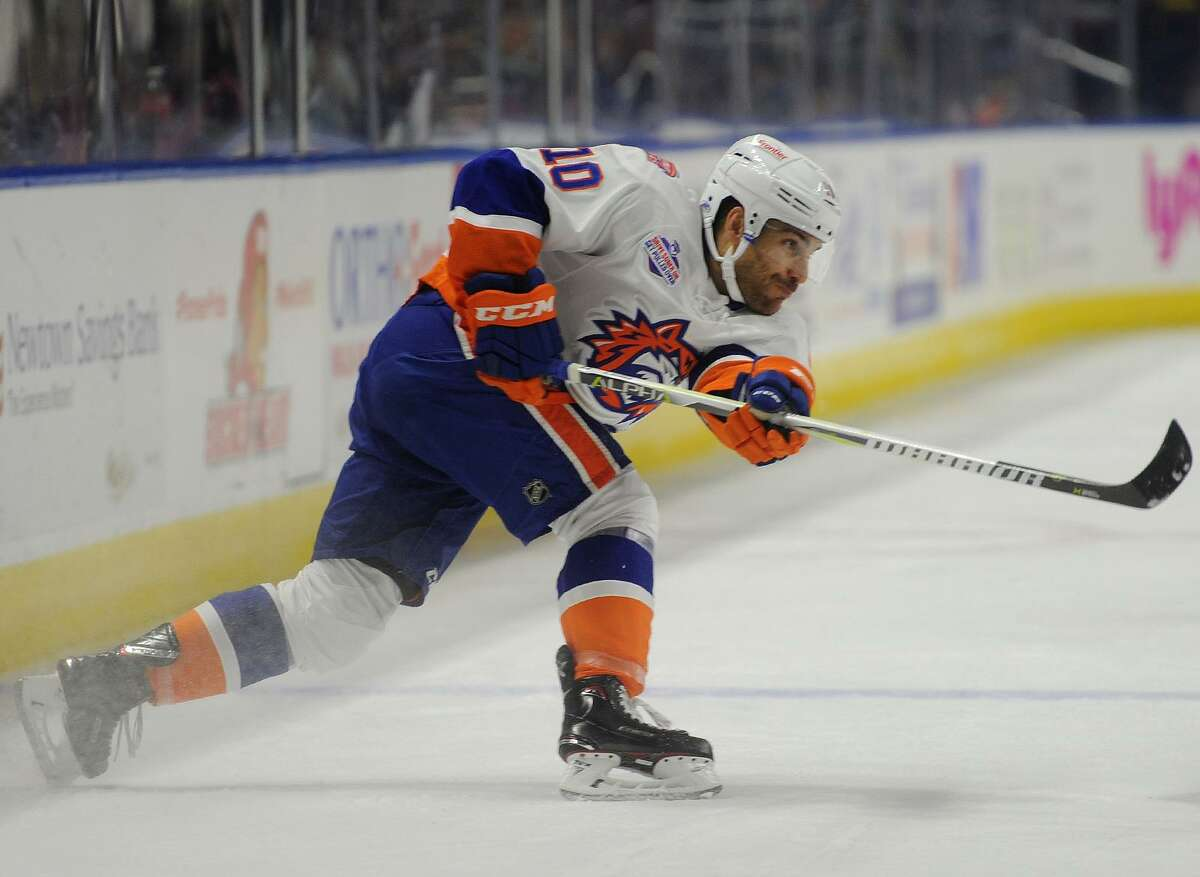 Veteran Ryan Bourque has landed on the Sound Tigers' top line at left wing.
