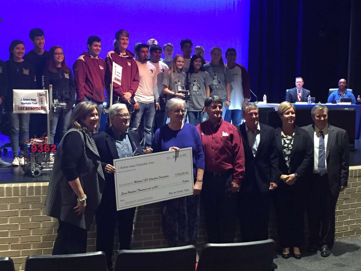 A presentation made at Monday's meeting showed that the trust has donated $895,000 to the Midland ISD Education Foundation for the benefit of Midland ISD students and teachers.