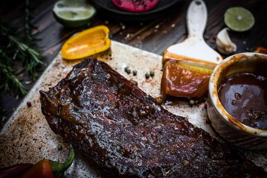 Smoked pork ribs at International Smoke. Photo: Mad Maven Media