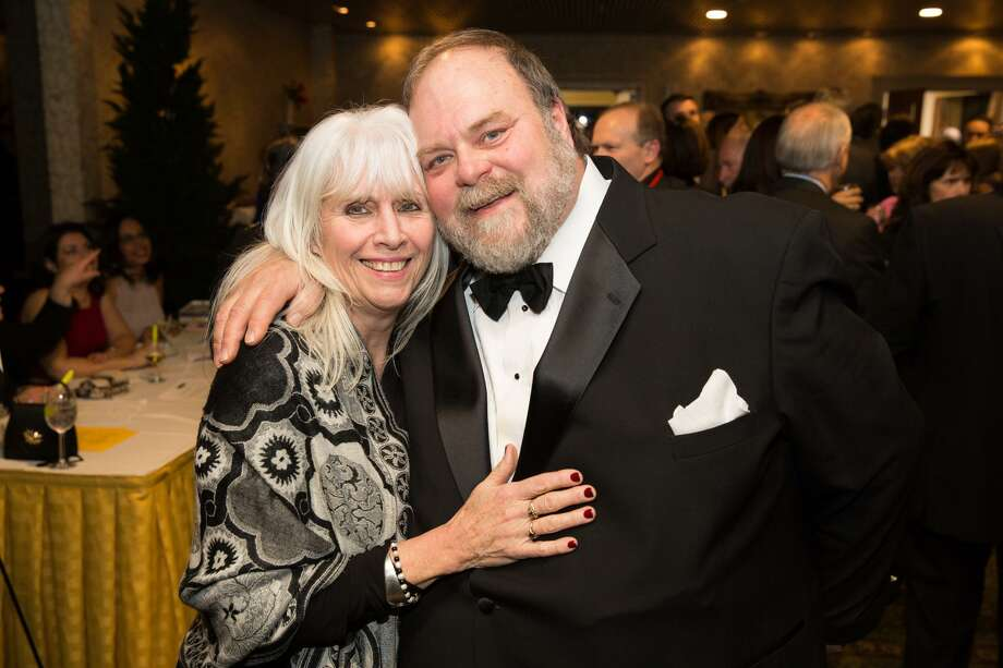 Donna and Doug Hempstead pose for a photo during the Norwalk Community Ball at the Italian Center in Stamford, Conn. on Friday January 27, 2016. Photo: Chris Palermo / For Hearst Connecticut Media / Norwalk Hour Freelance