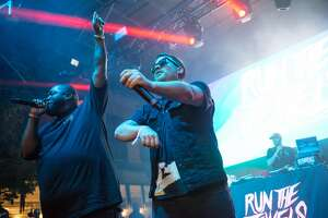 Run the Jewels performs on the first day of Capitol Hill Block Party on Friday, July 21, 2017. (GRANT HINDSLEY, seattlepi.com)