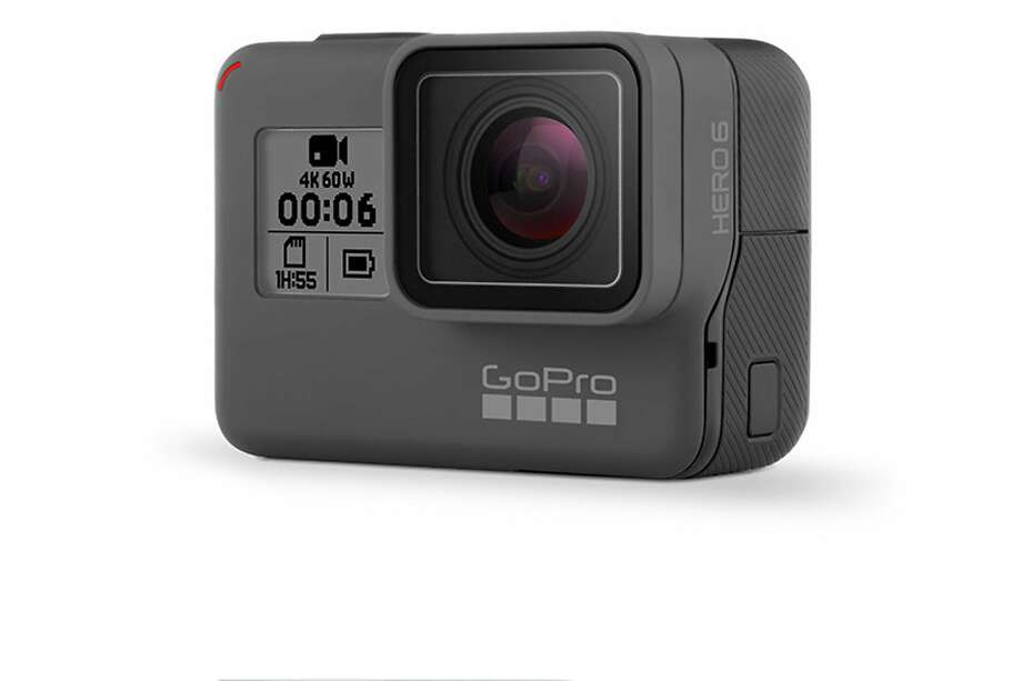 Among the most popular action cameras is the new GoPro Hero6 Black ($500, www.gopro.com). Photo: GoPro