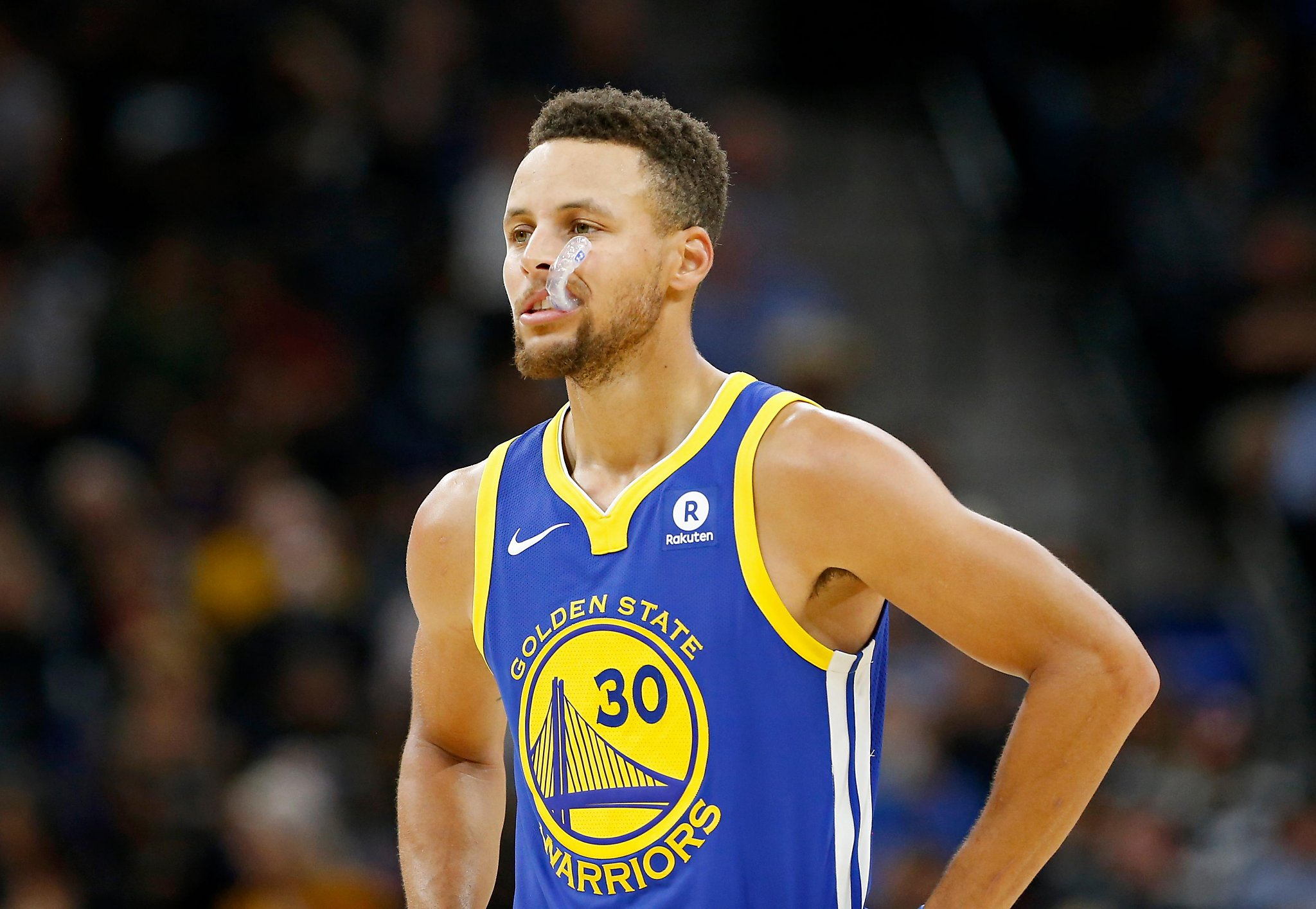 Warriors' Stephen Curry to miss Orlando game with thigh ... Stephen Curry