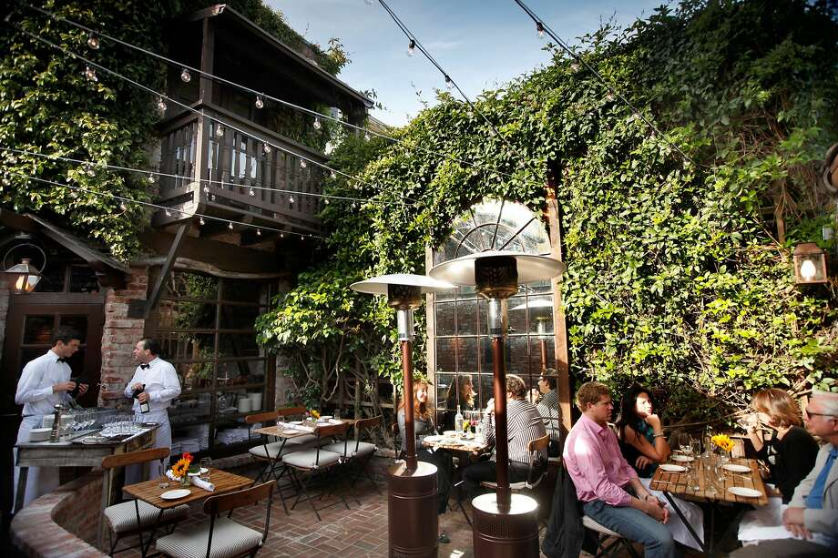 Outdoor patio at El Paseo restaurant in Mill Valley, which now has a full liquor license and serves a broader Northern California cuisine. Photo: Craig Lee, Special To The Chronicle