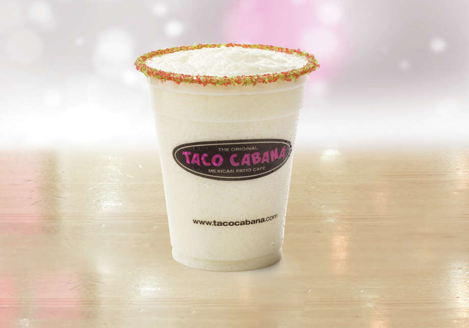 "Taco Cabana recently announced its Horchata Margarita drink as part of its ""Holiday Favorites"" menu. Photo: Taco Cabana"