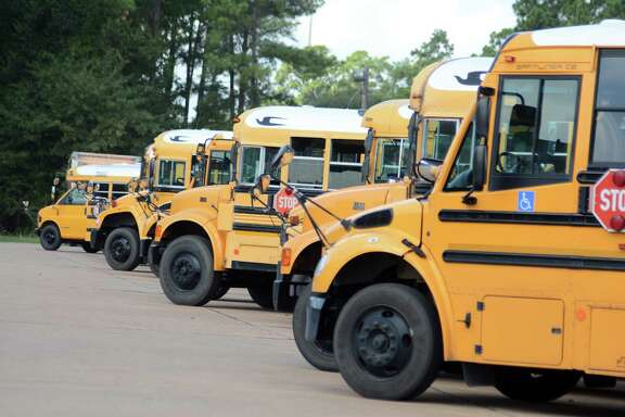 Conroe ISD is preparing to spend close to half a million dollars toward the purchase of 15 used school buses to add to its 522-bus fleet.