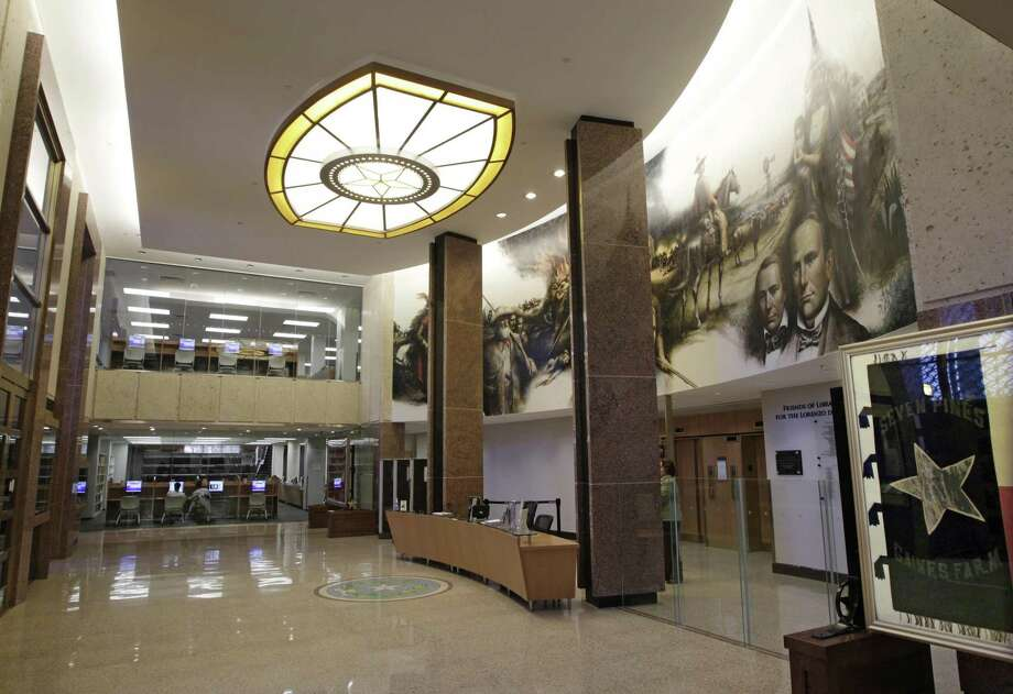 11/14/12  - Newly restored foyer at the Texas State Archives in Austin, Texas July 27, 2012.   (Erich Schlegel/Special Contributor) Photo: Erich Schlegel/Special Contribut / Fort Worth Star-Telegram / ©2012 Erich Schlegel