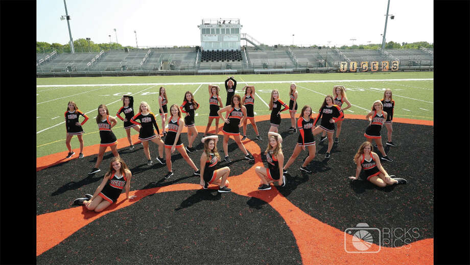 The Edwardsville High School Varsity Dance Team. Photo: For The Intelligencer