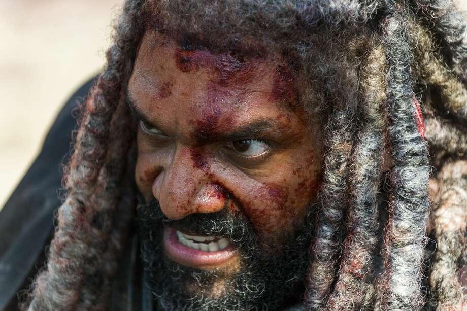 Khary Payton as Ezekiel. Photo: Gene Page/AMC