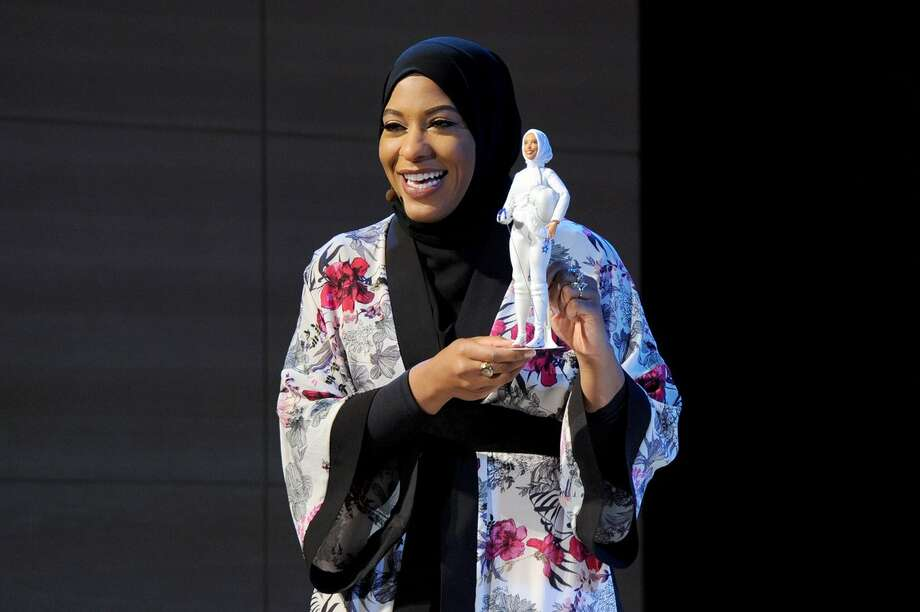 "Mattel,  which makes Barbie, announced Monday that the latest doll in its  ""Shero"" collection will be modeled after Olympic fencer Ibtihaj  Muhammad. In 2016, Muhammad became the first American to compete in the games while wearing a hijab. Photo: Instagram"
