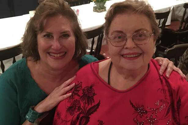 Sarah Brooks and Ann Criswell