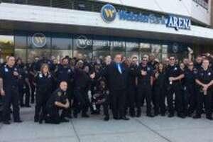 Members of the Bridgeport School Security force