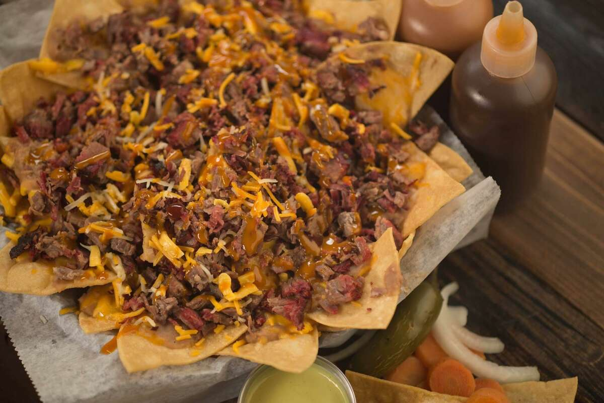 The San Antonio Bar-B-Cutie locations will serve panchos, or tortilla chips topped with beans, brisket and cheese.