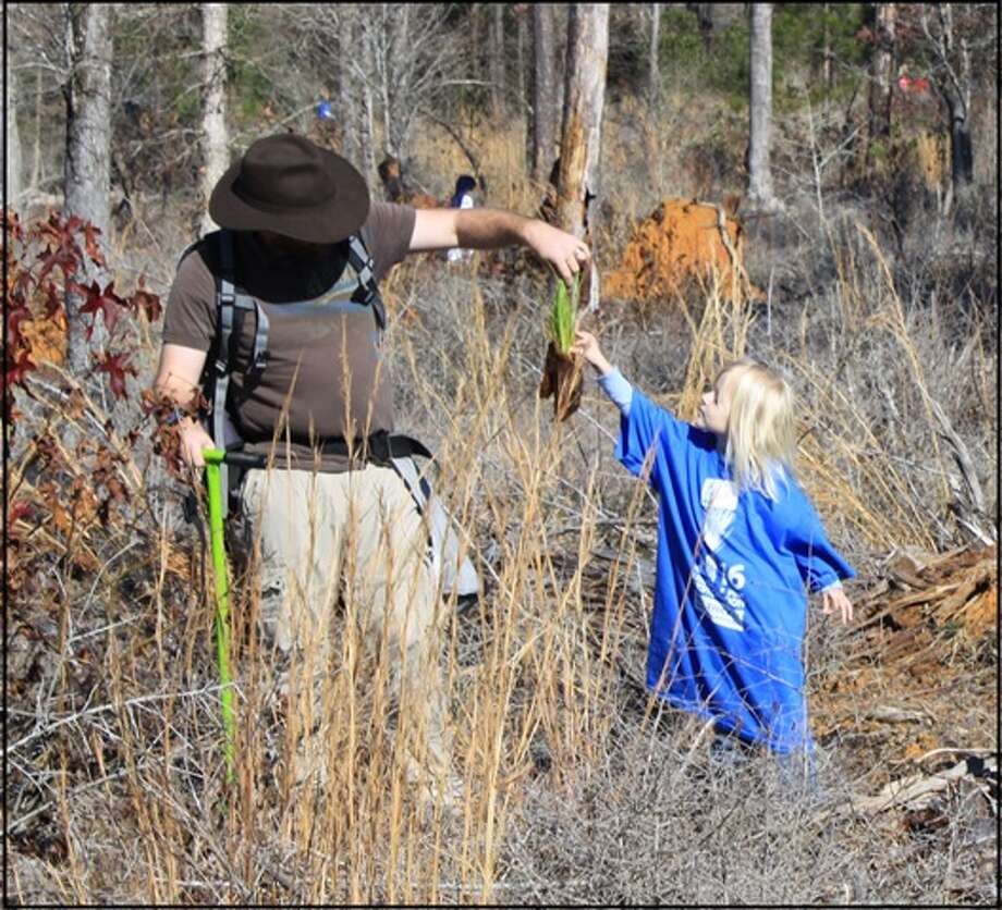 Many youth and adult volunteers will be participating in special planting events on Dec. 9 and Jan. 15. (Photo provided  by Big Thicket)