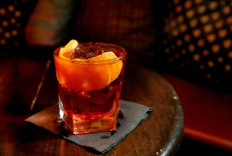 A negroni at Bar 821 on Divisadero Street in S.F. Photo: Michael Macor, The Chronicle